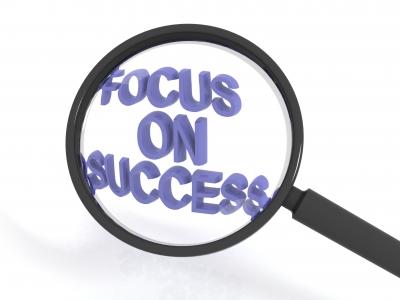 Focus on success!